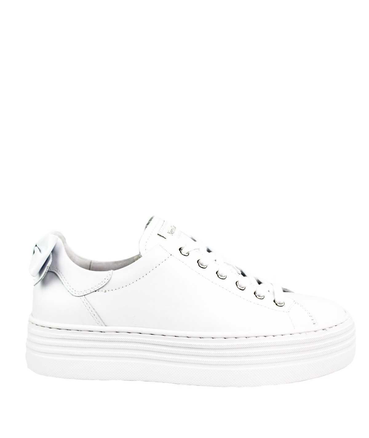 NEROGIARDINI Sneakers fiocco