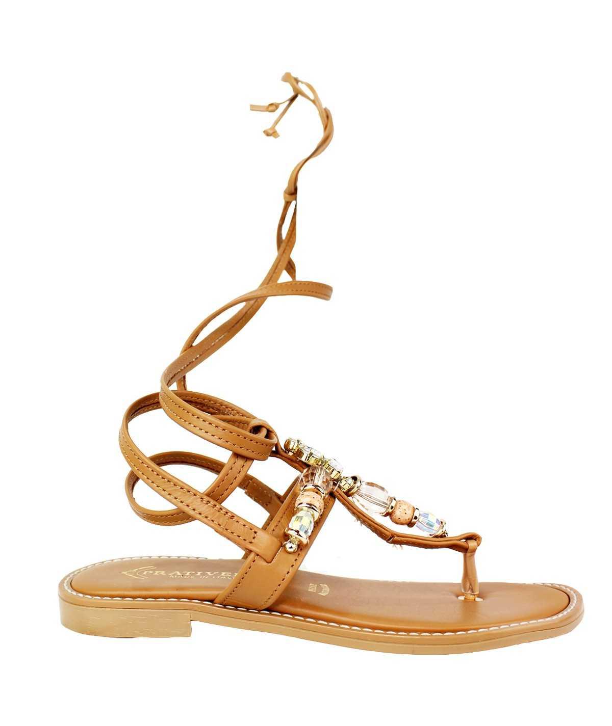 PRATIVERDI Sandalo gioiello...